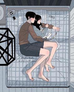 Bộ tranh: Bất cứ cô gái nào cũng mong muốn một tình yêu, dù rằng chỉ giản dị như thế này thôi! - Ảnh 13.