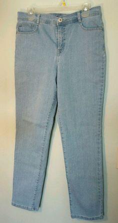 STYLE & CO DENIM BLUE 5 POCKET STRETCH SLIM LEG JEANS PANTS SIZE 12 INSEAM 30 #Styleco #SlimSkinny
