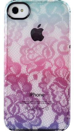 Mint Lace Gradient by Uncommon for iPhone 4/4S ClearlysupTM/sup UN Deflector.