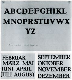 Building the AEG alphabet, Peter Behrens ca. 1907