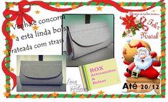Promoção especial de Natal #Rox Artesanatos&Bolsas Concorra a uma linda bolsa  no Lana Fortuna não fique fora