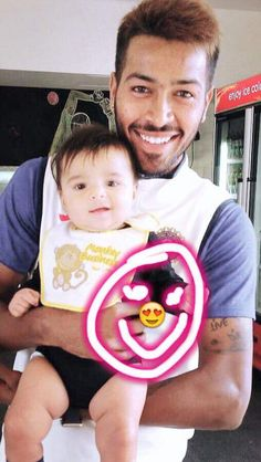 Ohhhh again my my cutie pie with one other cutie pie.It is very difficult to find who is cute My True Love, Real Love, My Love, Heat Fan, Champions Trophy, Mumbai Indians, Crickets, School Quotes, One And Other