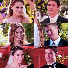 One Tree Hill OTH Haley and Nathan Naley 3x22 Peyton and Lucas Leyton 6x23…