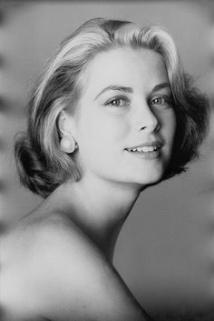 Grace Kelly appears in Vogue one year before her marriage to Prince Rainier III of Monaco. Photographed by Irving Penn, Vogue, March 1955.