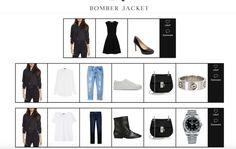 Three Ways to Style a Bomber Jacket