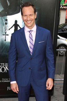 """Patrick Wilson at the premiere of """"The Conjuring 2"""" in LA on June 7, 2016..."""