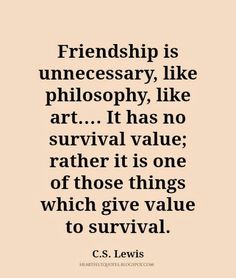 friendship matters quotes