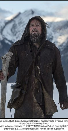 "As predicted, Leonardo DiCaprio (""The Revenant"") won Best Actor at the Oscars on Sunday for playing Hugh Glass, a frontiersman who gets left for dead after a bear attack. DiCaprio was Gold Derby's frontrunner with odds of to prevail. Hugh Glass, Martin Scorsese, Oscar Best Picture Nominees, Oscar Nominated Movies, Best Actor Oscar, Best Clips, The Revenant, Tom Hardy, Real People"