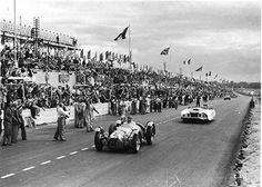 1950_le_mans_2.jpg - 1950 Le Mans, Le Monstre hinter Talbot Lago (Louis Rosier, Jean-Louis Rosier)