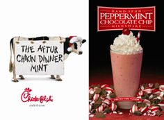 Peppermint Chocolate Chip Milkshake cant wait until winter(:
