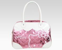 hello kitty pink white purse