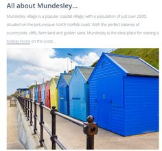Find out about Mundesley, including its history, here -