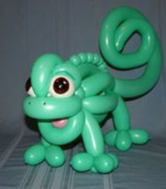 Balloon art lizard