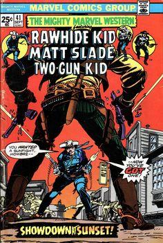 Mighty Marvel Western 41 - Gil Kane