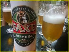 Faxe Premium a Cerveja Dinamarquesa da lata gigante