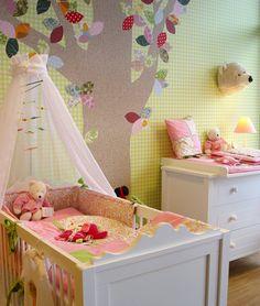 Fantasyroom | Tapetentiere & Tapetenbäume im Babyzimmer & Kinderzimmer: Kinderzimmerideen