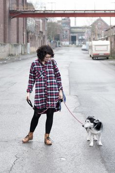 Look Fashion, Fashion Outfits, Tweed, Mein Style, Sewing Clothes, Hipster, Shirts, Shirt Dress, Style Clothes