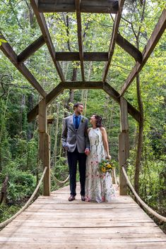 This bride and groom had a very down to earth wedding, literally! They held their ceremony at Timberlake Earth Sanctuary. MKM Photography, a Durham, North Carolina wedding photography company perfectly captured the love shared between this bride and groom.