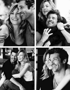 Grey's anatomy Patrick Dempsey and Ellen Pompeo Meredith and Derek Meredith Und Derek, Meredith Grey, Grey Quotes, Grey Anatomy Quotes, Grays Anatomy, Sullivan Patrick Dempsey, Grey's Anatomy Wallpaper, Dark And Twisty, Youre My Person