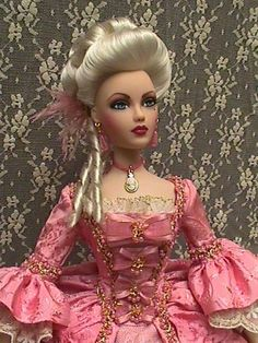 If there is a Marie Antoinette Barbie doll out there....I want it. And I want it now!!