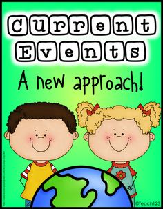 Current Events - a new approach. FREE Printables plus links to sources for articles.  Great informational text lesson!