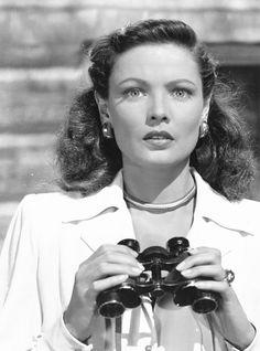 """Gene Tierney en """"Que el Cielo la Juzgue"""" (Leave Her to Heaven), 1945"""