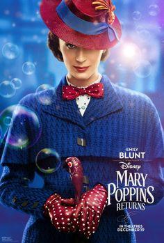 Emily Blunt and Lin-Manuel Miranda Mary Poppins Returns film costumes on display. Mary Poppins Film, Emily Blunt Mary Poppins, Mary Poppins 2018, Movie In The Park, Movie Of The Week, Salem Movie, I Movie, Disney Original Movies List, Disney Movies
