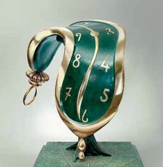Your Time is running out DJT. Salvador Dali Kunst, Cool Works, 3d Fantasy, Guache, Spanish Artists, Famous Art, Magritte, Love Painting, Cold Porcelain