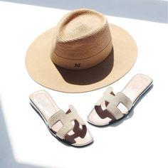 Sandales Hermès Oran et Maison Michel