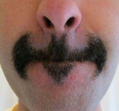 Batman Logo Mustache