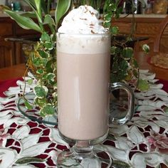 """Instant Swiss Mocha Bliss   """"A mixture of instant flavored coffee and instant hot cocoa that looks and tastes like it came from a cafe! Top with a dollop of whipped cream and a pinch of cinnamon!"""""""