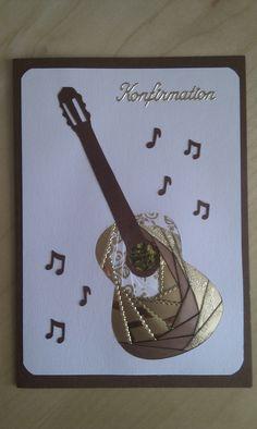 Iris Folding Guitar