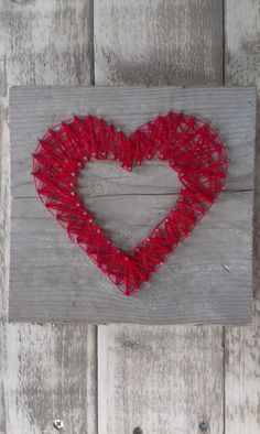 Steigerplankje met hart   Steigerhout   Leeuw Design