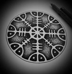 Error - Fotky Slavic and Scandinavian tattoos Scandinavian Tattoo, Pagan Symbols, Norse Runes, Mythology Tattoos, Norse Tattoo, Cold Treatment, Nordic Art, Asatru, Mountain Tattoo