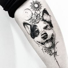Home - Tattoo Spirit Ideas Pitbull Tattoo, Dog Tattoos, Animal Tattoos, Tattoo Drawings, Body Art Tattoos, Sleeve Tattoos, Tatoos, Trendy Tattoos, Small Tattoos