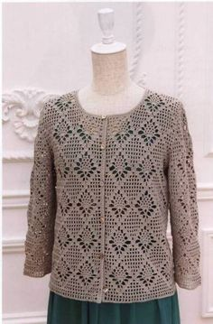 Crochet Crochet: Miracles with Love Вязание крючком Вязание крючком: Чудеса с а… Crochet Crochet: Miracles avec la raison de l& Crochet Bolero Pattern, Gilet Crochet, Crochet Coat, Crochet Jacket, Crochet Blouse, Cotton Crochet, Crochet Scarves, Crochet Shawl, Crochet Clothes