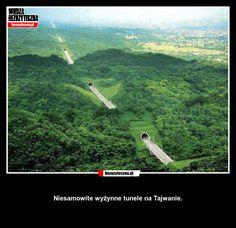 Niesamowite wyżynne tunele na Tajwanie. » Bezuzyteczna.pl   Codzienna dawka…