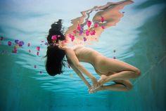 El fotógrafo Ryan Muirhead se embulle en el agua para traernos hipnóticos retratos