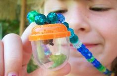 Cool DIY bug catcher necklace for kids by Whimsy Love!