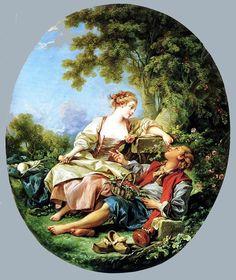 Francois Boucher (1703–1770) Франция.