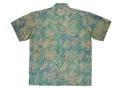 Ferntastic - 100% cotton button up Hawaiian style shirts represented by Human Arts Gallery in Ojai, CA.