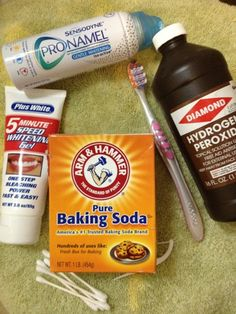 DIY Teeth Whitening and tons of other great makeup and skin cleaning information