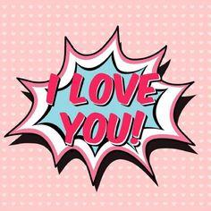 """Carte de Voeux Dématérialisée """"I Love You"""" Boom I Love You, Messages, Parfait, Couple, Key, Greeting Card, Texts, Gift, Love"""