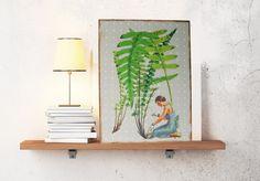 Kunstdruck+auf+Holz+von+Atelier+Art-istique+auf+DaWanda.com