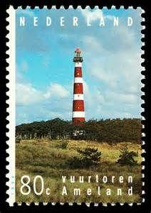 postzegels vuurtoren