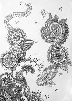 Henna and mandalas Tattoo Studio, Mehndi Designs, Tattoo Designs, Henna Designs On Paper, Gravure Laser, Henna Style, Graffiti, Mandala Tattoo, Mandala Drawing