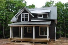 Cottage Style Tiny House- via pinterest.com