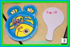 Animal plate addition center!  Kindergarten Smorgaboard Under The Sea Addition Center