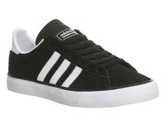Buy Black White Gum Adidas Campus Vulc Ii from OFFICE.co.uk.