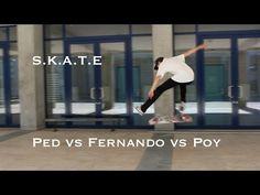 """S.K.A.T.E Ped vs Fernando vs Poy - http://dailyskatetube.com/switzerland/s-k-a-t-e-ped-vs-fernando-vs-poy/ - On avait pas posté de SKATE depuis longtemps donc en voilà un! N'oubliez pas de vous abonner si vous voulez être au courant de nos prochaines vidéos et de laisser un """"j'aime"""" si la vidéo vous a plu :) Source: https://www.youtube.com/watch?v=urO9uw5SquE"""